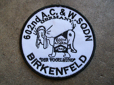 vintage 1990 602nd A.C.&W Squadron Birkenfeld Germany Reunion Patch #2