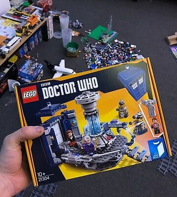 Brand New Sealed LEGO Ideas Doctor Who (21304) Rare Discontinued