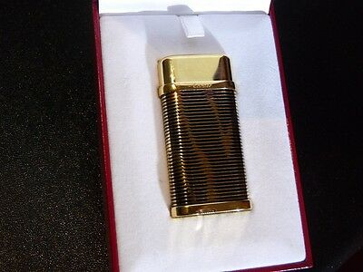 Cartier 'Python' Decor Lighter Comes Boxed with Papers - Mint Condition