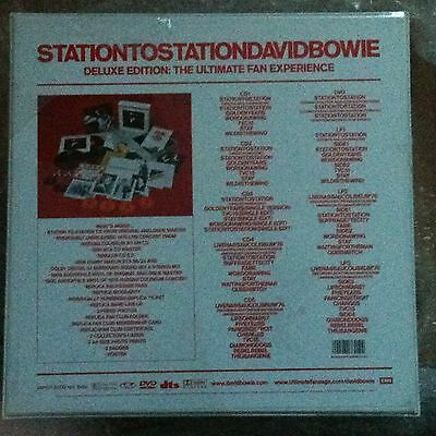 David Bowie - Station To Station Deluxe Vinyl Lp Box Set - Sealed
