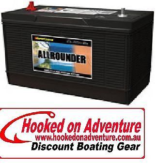 Battery Cranking Deepcycle Allrounder MRV87 Great Value 825 CCA 120 Amp Hour