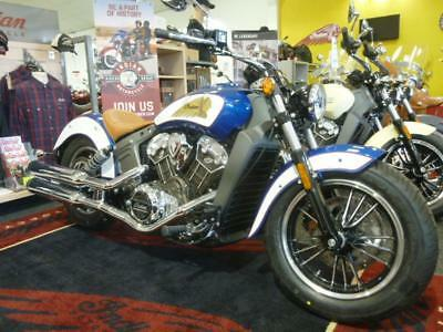 Indian Scout 2-Tone 2017 Model In Stock