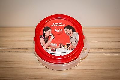 Coca-Cola / Lunchbox / Storage box food / RARE / Collectables / Europe