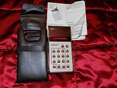 Rockwell 8 R Automatic Percent Calculator 1970's Vintage - Working