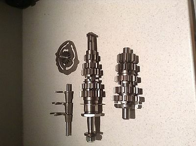 New Triumph 5 Speed Gears Complete With Shafts,gears, Selectors And Camplate