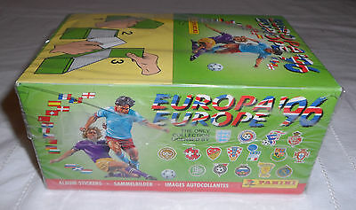1 BOX Euro 1996 sealed in cellophan PANINI RARE Europa 96 mint