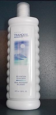 Lot Of 5 Tranquil Moments Relaxation Foam Bath 473Ml