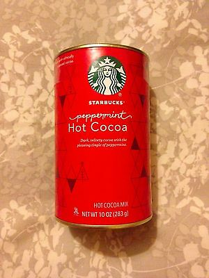 Starbucks Peppermint Hot Cocoa Mix 10 oz (283g) hot chocolate ---Made in USA