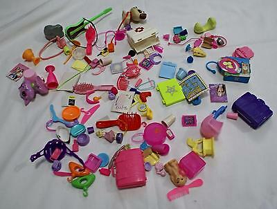 Barbie Accessory Large LOT Some Vintage Hats Cases Pets Furniture