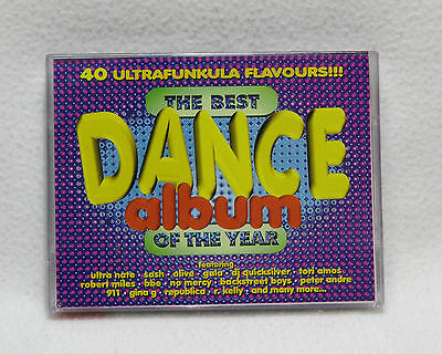 The Best Dance Album Of The Year - Double Cassette Tape - Compilation Album-1997