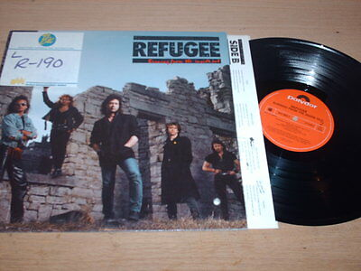 Refugee - Burning From The Inside Out - LP Record  EX VG+
