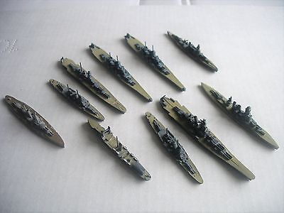 Diecast Ships 10 Off
