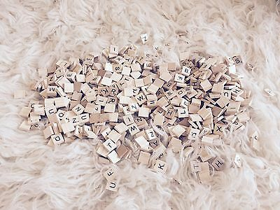 Assorted Wooden Scrabble Letters Wedding/invites/Place Settings