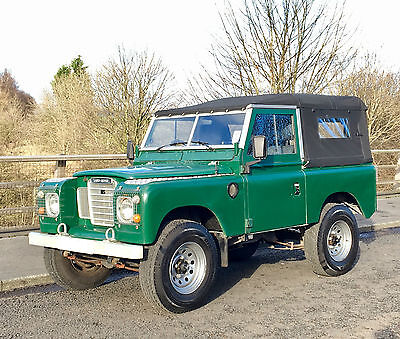 "Land Rover Series 3 88"" Soft Top - Family Owned For Past 20 Years"