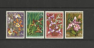British Honduras Belize - 1968 Economic Commission (Mh) Orchids