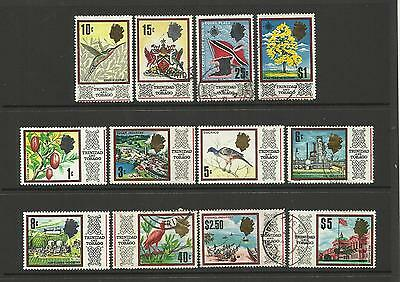 Trinidad & Tobago ~ 1969 Qe Ii Definitives (Part Set)