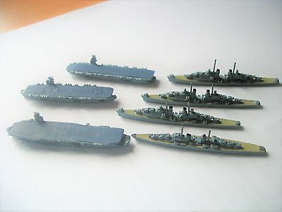 Diecast Ships + Aircraft Carriers