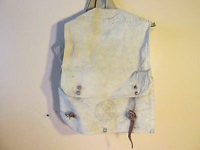 Boy Scouts Of America National Council Field Woods Backpack Canvas Vintage