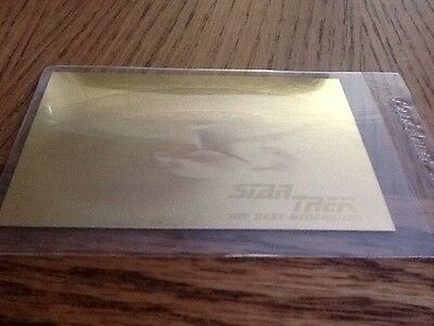 Star Trek The Next Generation #05H Hologram Card