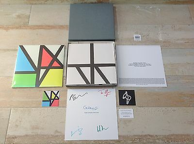 New Order - Music Complete limited edition coloured vinyl box set  signed rare
