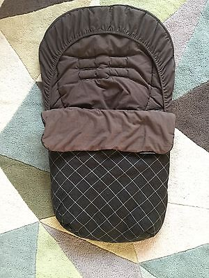 Mamas and Papas footmuff, Cosy Toes , Apron. Good Used Condition.
