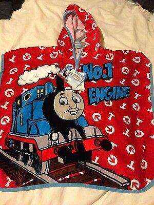 BNWT thomas and friends hooded towel