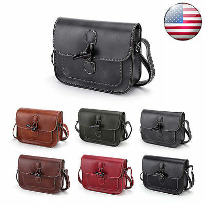 Women Leather Crossbody Tote Bag Shoulder Handbag Hobo Messenger Satchel Purse