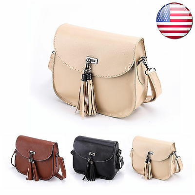 Tote Bag Women Leather Handbag Shoulder Hobo Purse Messenger Satchel Crossbody
