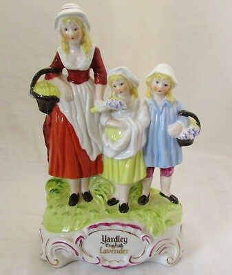 Yardley Advertising Group Figurine Statue Perfume Scent Soap Lavender