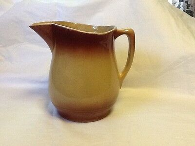 Vtg Watt Ware EVE-N-BAKE Oven Ware USA PITCHER