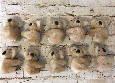 Lot Of 10 Vintage Koala Bear Pencil Huggers Ornaments Lot #2 (BinP)