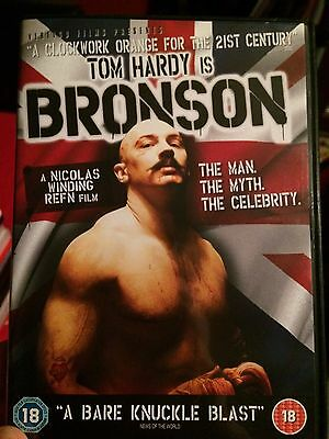 Tom Hardy Is Bronson DVD