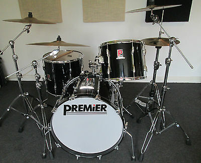 Vintage Premier Resonator Drum Kit 1989 - Stunning - With More Pictures !!