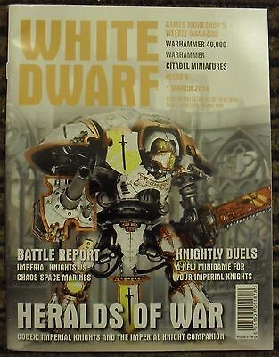 White Dwarf Issue 5 - 1 March 2014 - Games Workshop - Wh40K - Citadel - Used