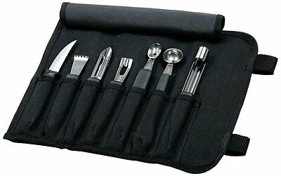 Mercer Culinary 8-Piece Garnishing Kit FREE Shipping USA Seller