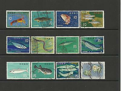 Japan 1966-67 ~ Fishery Products (Set)