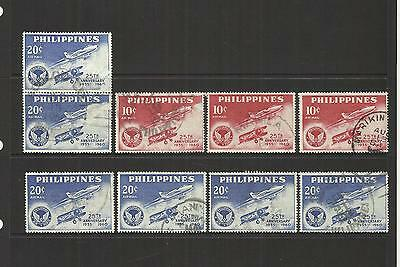 PHILIPPINES ~ 1960 AIR MAIL 25th ANNIV. PHILIPPINES AIR FORCE (USED)