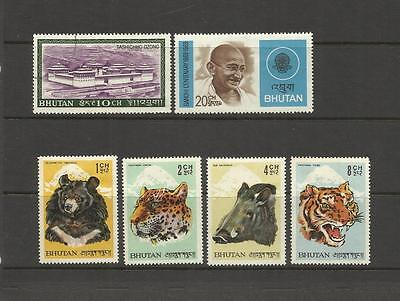 Bhutan ~ Small Collection Mid Modern Issues (Most Agency)