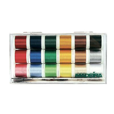 Madeira Rayon No. 40 Thread Box Assortment