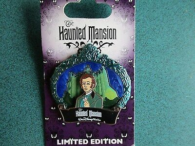 Disney Wdw 2009 Haunted Mansion Master Gracey Le 2000 Pin