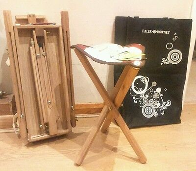Daler Rowney Art of Giving, Cornwall EASEL SET,New with tags,3 pieces GIFT.