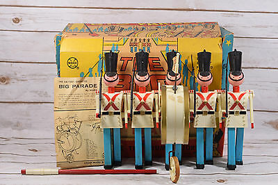 Vintage Marx The Big Parade Toy with Box and Instructions
