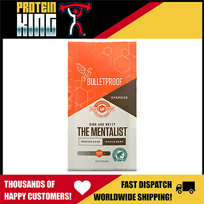"Bulletproof Coffee 340G ""the Mentalist"" Whole Arabica Beans Bullet Proof Asprey"