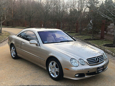 2003 Mercedes-Benz CL-Class  69 k low mile free shipping warranty 2 owner clean cheap luxury cl 500 v 8