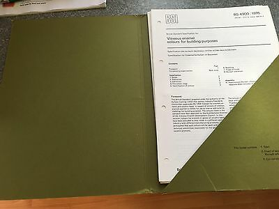 BS 4900:1976 - Spezifikation for glasig emaille farben for bauen zwecke