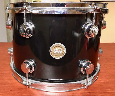 DW Drum Workshop Collectors Series 13x9 Rack Tom Gloss Black Made in The USA