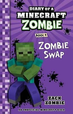 Diary of a Minecraft Zombie #4: Zombie Swap by Zack Zombie Paperback Book