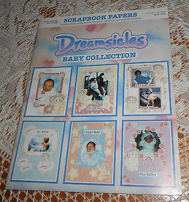 Dreamsicles Baby Collection Scrapbook Paper