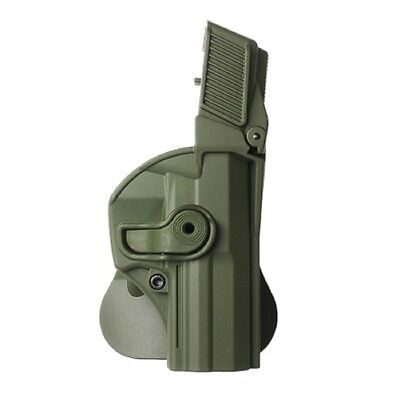 IMI Defense Level 3 Retention Holster P8, paddle, black, right Color: Olive