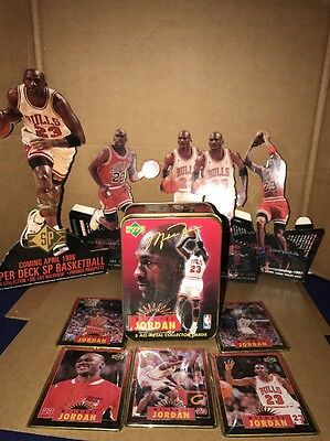 UPPER DECK 1996 MICHAEL JORDAN ALL-METAL COLLECTOR CARDS Plus Extras